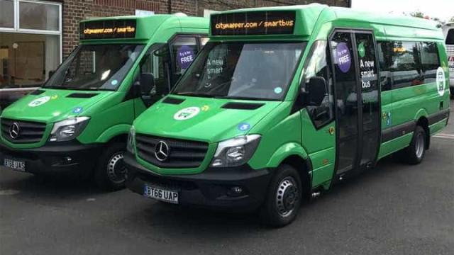 App lança ônibus que só vai até pontos onde há passageiros