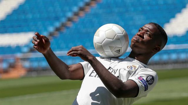 Ronaldo Fenômeno chama Vinicius Jr. de 'maior esperança do Brasil'