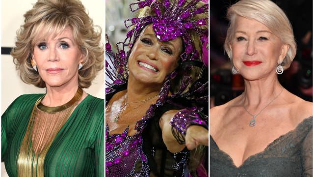 Após os 70: as famosas que arrasam há décadas