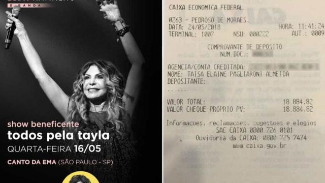 Equipe de Elba Ramalho sofre golpe após doar R$ 18 mil, diz produtor