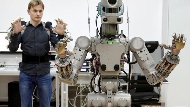 Rússia quer enviar tripulação de robôs para o Espaço