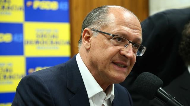 Empresários pró-Alckmin prometem apoio e dizem preferir Bolsonaro a PT
