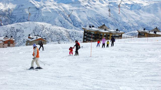 Quer esquiar? Vá para o Chile