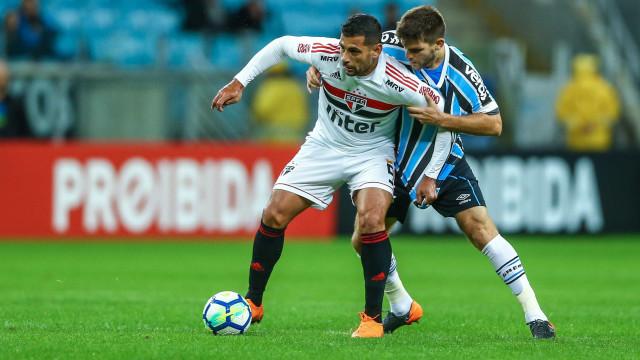 Virada do Grêmio impede São Paulo de assumir a liderança do Brasileiro