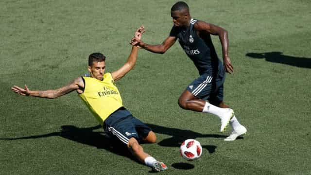 Real deve começar jogo contra o United com Bale, Benzema e Vinicius