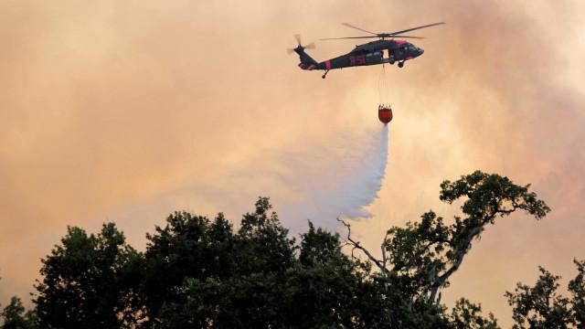 Incêndio no norte da Califórnia é o maior da história do estado