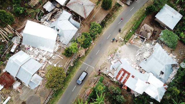 Vídeo mostra desespero durante terremoto na Indonésia nesta quinta