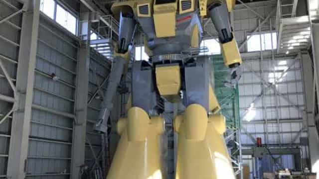 Maior robô do mundo foi construído por uma única pessoa