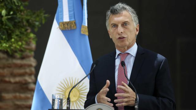 Macri anuncia que vai buscar a reeleição em 2019 na Argentina