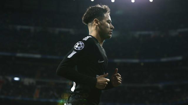 Neymar segue na mira do Real Madrid, que já separa R$ 1,3 bilhão