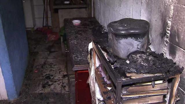 Incêndio em favela de SP faz um morto e deixa 28 desabrigados