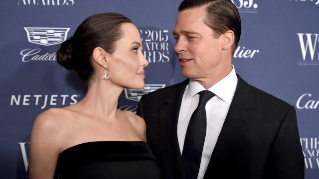 Angelina Jolie terá que permitir mais visitas de Brad Pitt aos filhos