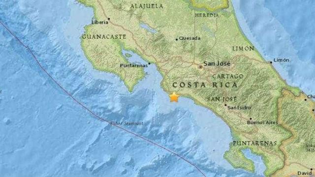 Terremoto atinge a Costa Rica e é sentido no Panamá
