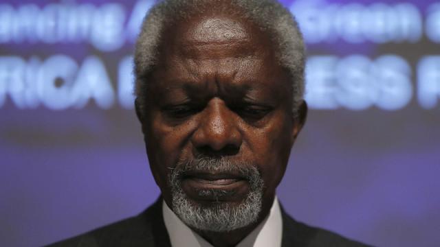 Morre Kofi Annan, ex-secretário geral da ONU e Nobel da Paz