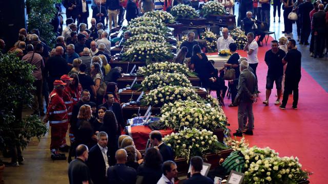 Itália se despede das vítimas da tragédia em Gênova