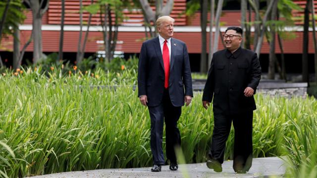 Trump diz que 'provavelmente' se reencontrará com Kim