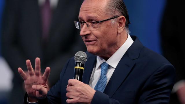 Não vou ser pau mandado de banqueiro, diz Alckmin sobre Bolsonaro