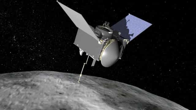 Sonda da Nasa capta imagens de asteroide que pode colidir com a Terra