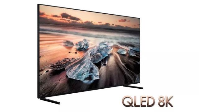 Samsung vai lançar televisão 8K