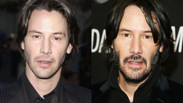 Keanu Reeves é 'imortal': eis aqui a prova!