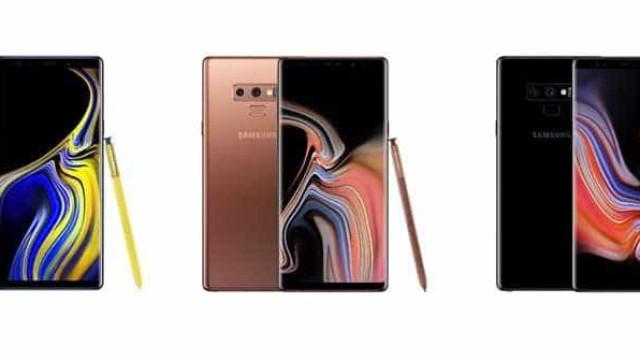 Samsung apresenta Galaxy Note9 e Galaxy Watch no Brasil