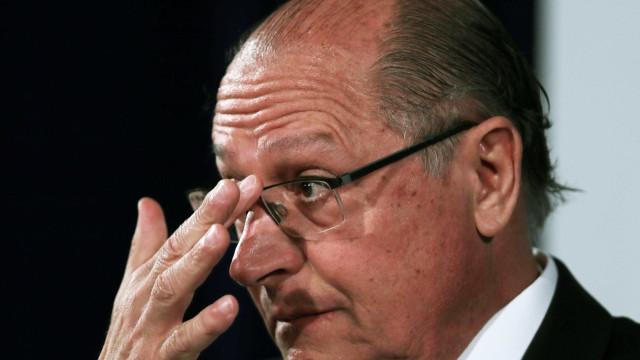 'Objetivo é só atrapalhar mesmo', diz Alckmin sobre denuncia do MP-SP
