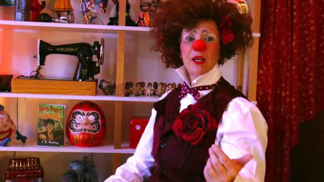 Palhaça Rubra faz 25 anos de carreira com espetáculo cheio de improviso