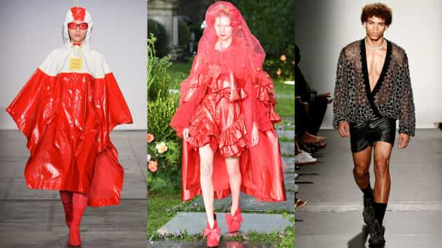 Confira os looks mais estranhos da New York Fashion Week