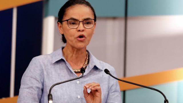 Marina diz que seria oportunismo mudar estratégia por queda em pesquisa
