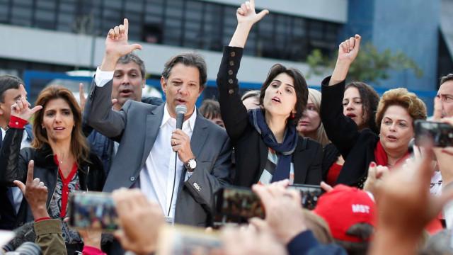 Haddad precisou 'engolir' o choro ao anunciar que substituiria Lula