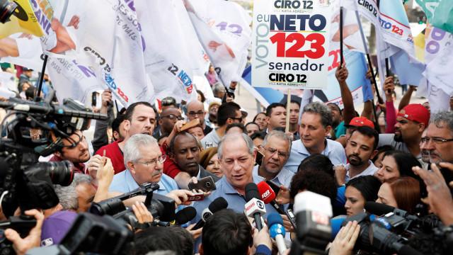 'Ele é inexperiente, não conhece o Brasil', diz Ciro sobre Haddad