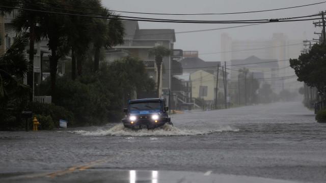 Tempestade Florence já causou 15 mortes nos Estados Unidos