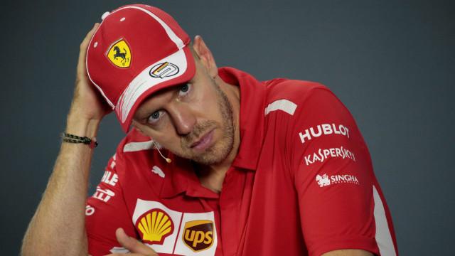 Vettel admite erro de estratégia dele e da Ferrari: 'Custou o 2º lugar'