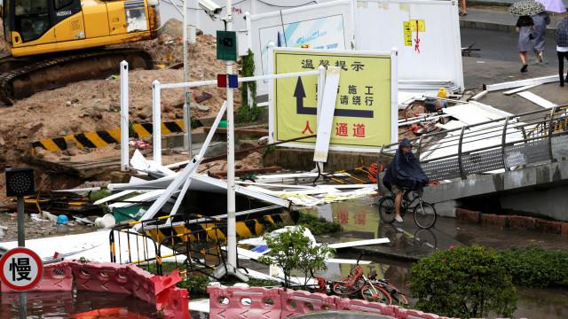 Tufão Mangkhut evacua 3 milhões de pessoas na China