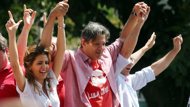 Avanço em pesquisas não é só 'efeito Lula', afirma Haddad