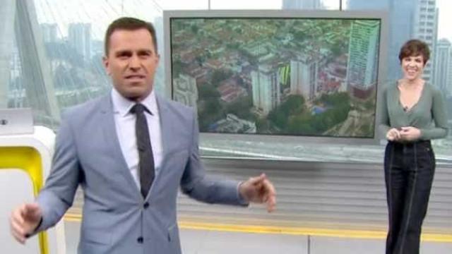 Jornalista da Globo fala pela 1ª vez sobre briga ao vivo com colega