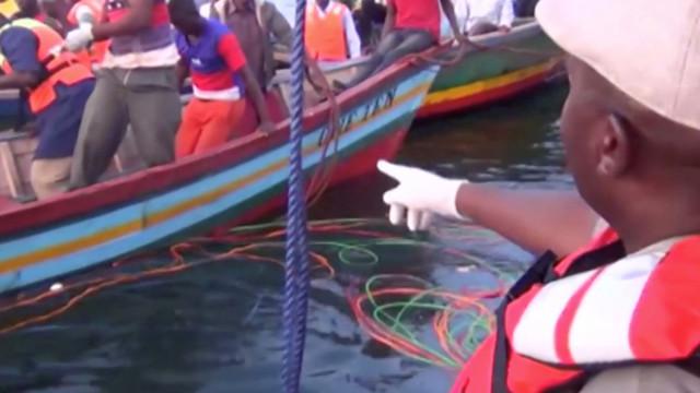 Sobe para 170 número de mortos em naufrágio na Tanzânia