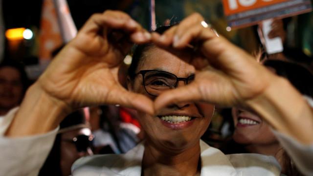 Marina Silva diz que eleitor deve 'votar com o coração' no 1º turno