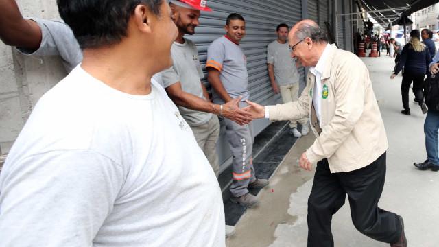 Alckmin aposta em SP e 'cobra fatura' em estado que governou