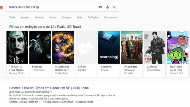Google encontra bilhete de cinema mais barato; saiba como