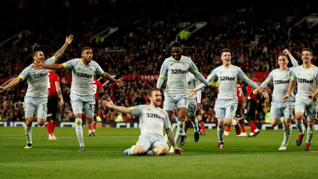 Time de Lampard, da 2ª divisão, elimina Man United na Copa da Liga