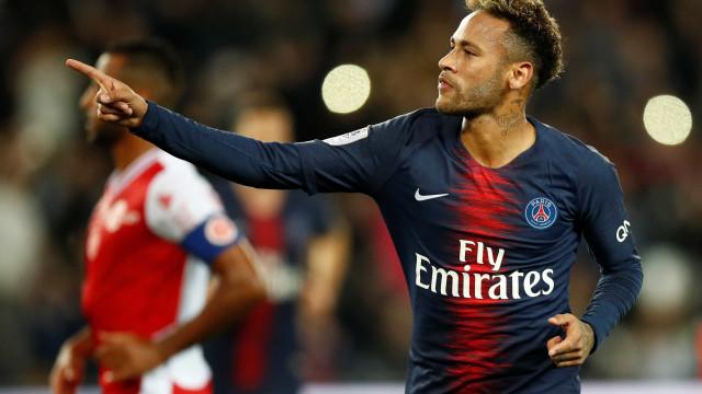Neymar desequilibra e comanda virada do PSG contra o Reims
