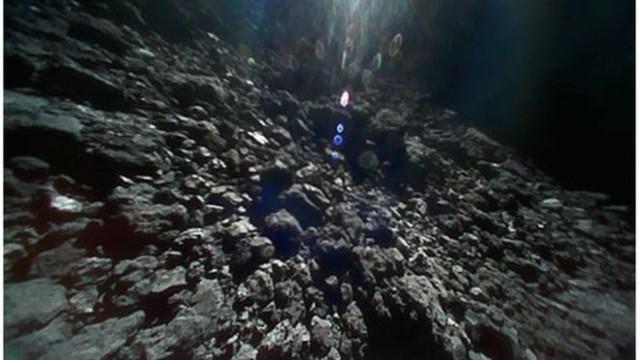 Vídeos e imagens revelam como é estar na superfície de um asteróide