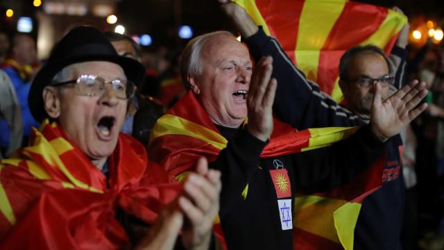 População da Macedônia boicota plebiscito sobre novo nome