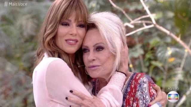 Ana Maria Braga chora ao falar do câncer de Ana Furtado