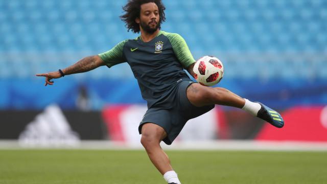 Marcelo é cortado da seleção brasileira