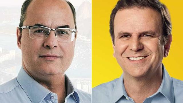 Wilson Witze ameaça prender Eduardo Paes em debate por 'injúria'