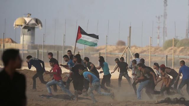 Ao menos 6 palestinos morrem em confrontos em Gaza