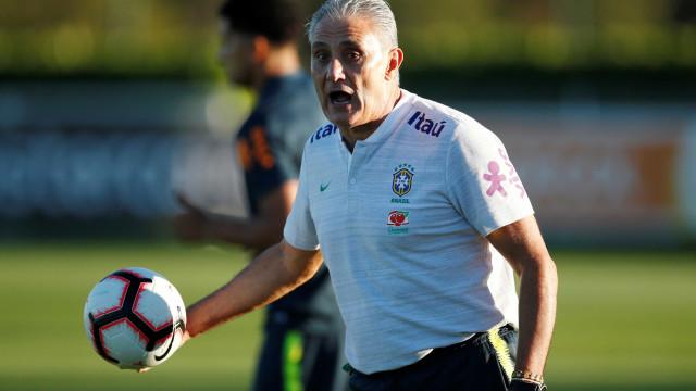 Tite admite rendimento ofensivo baixo da seleção em amistoso
