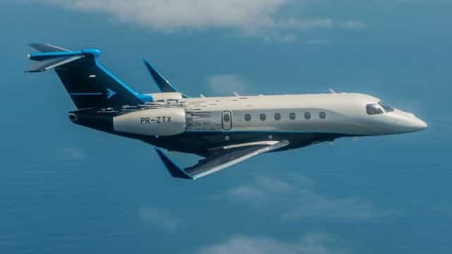 Embraer apresenta novos jatos executivos Praetor 500 e 600